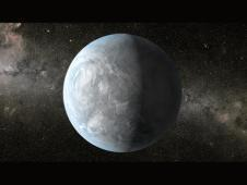<a href='http://www.nasa.gov/mission_pages/kepler/multimedia/images/kepler-62e.html' class='bbc_url' title='External link' rel='nofollow external'><em class='bbc'>Click for multiple resolutions and caption.</em></a><br /> This artist&#39;s concept depicts Kepler-62e,<br /> a super-Earth-size planet in the habitable<br /> zone of a star smaller and cooler than the<br /> sun, located about 1,200 light-years from<br /> Earth.<br /> Image credit: NASA Ames/JPL-Caltech