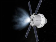 <br /> Image above: As part of a new agreement<br /> between the two space agencies, the<br /> European Space Agency will provide the<br /> service module for NASA�s Orion spacecraft.<br /> Image credit: NASA