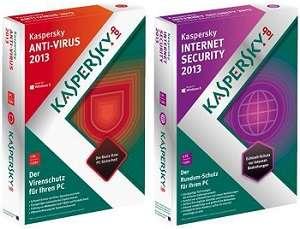 Kaspersky Internet Security ve Kaspersky Anti-Virus 2013 full indir