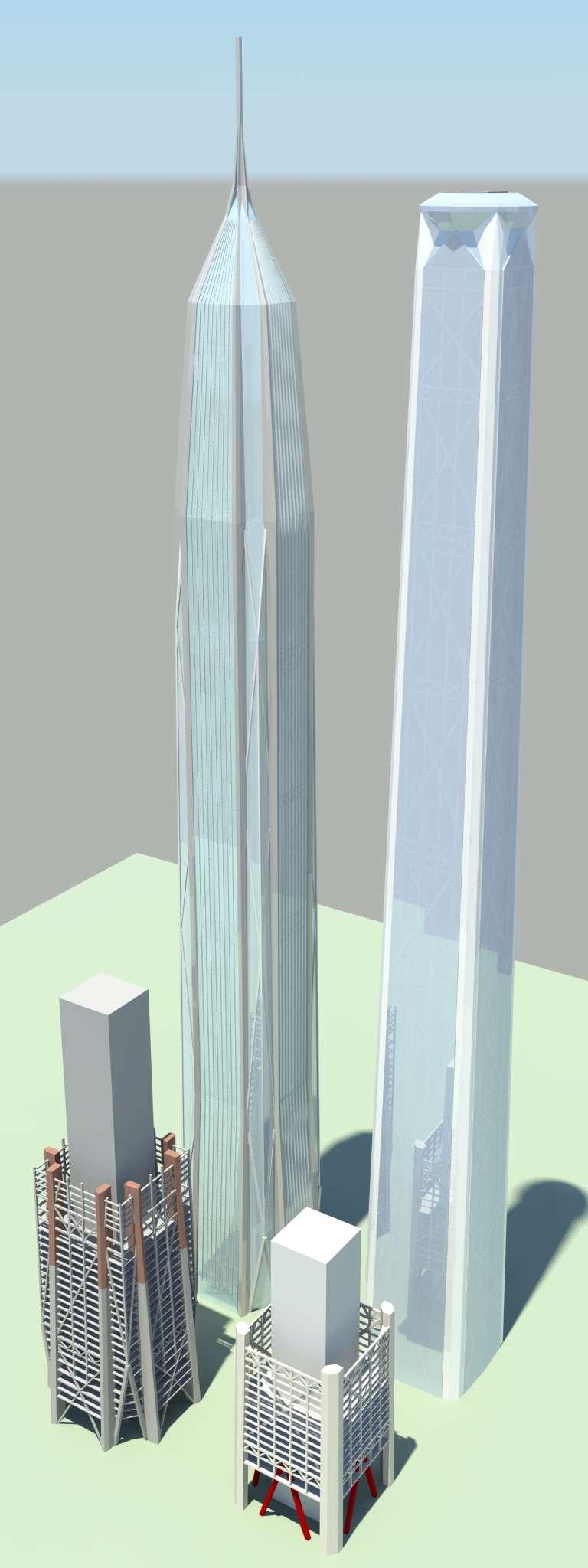 Shenzhen Ping An Finance Center 599m 1965ft 115 Fl
