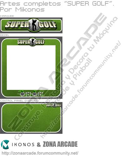 "Artes completos ""Super Golf"""