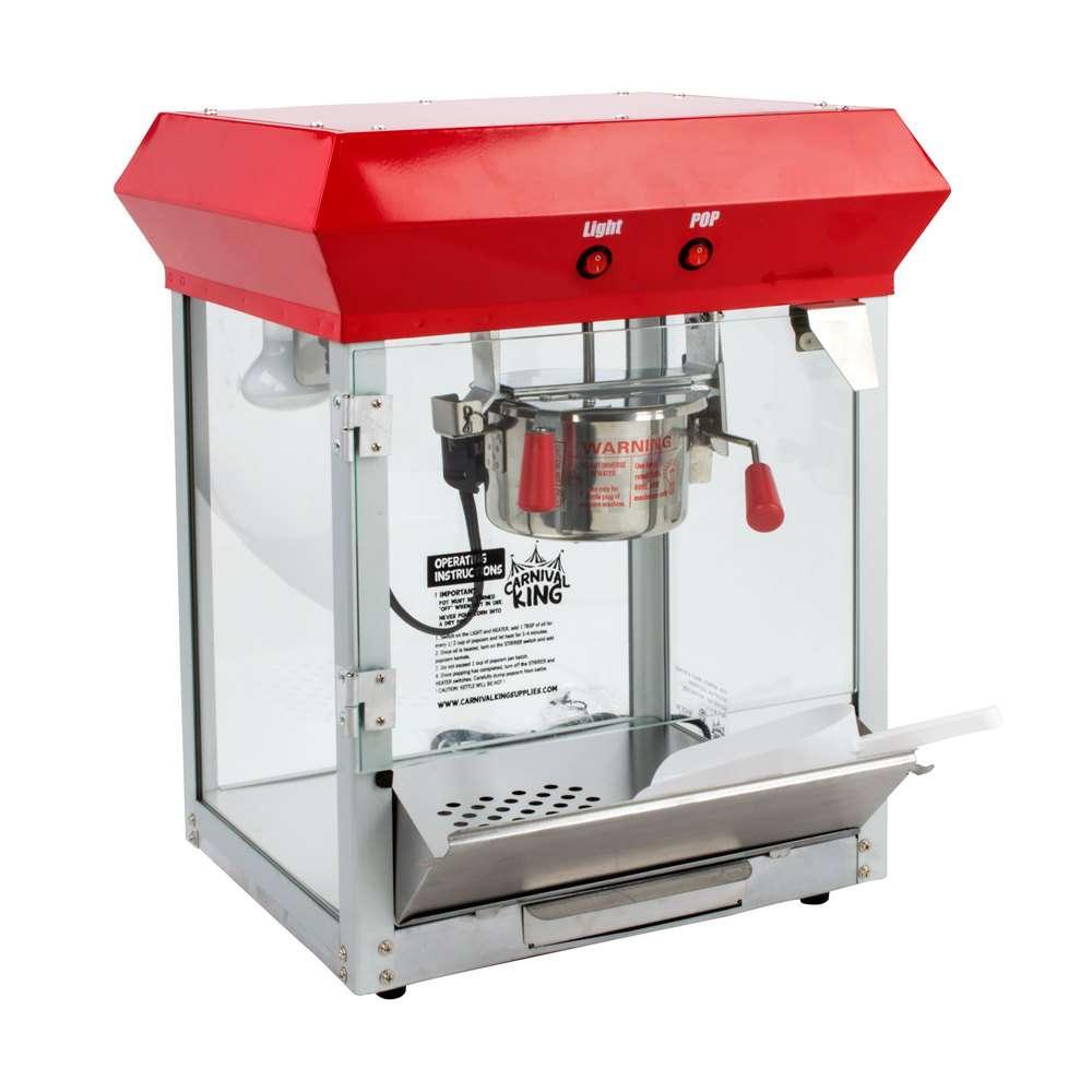 Maquina de palomitas 4oz palomera carnival king vv4 - Maquina de cocinar ...
