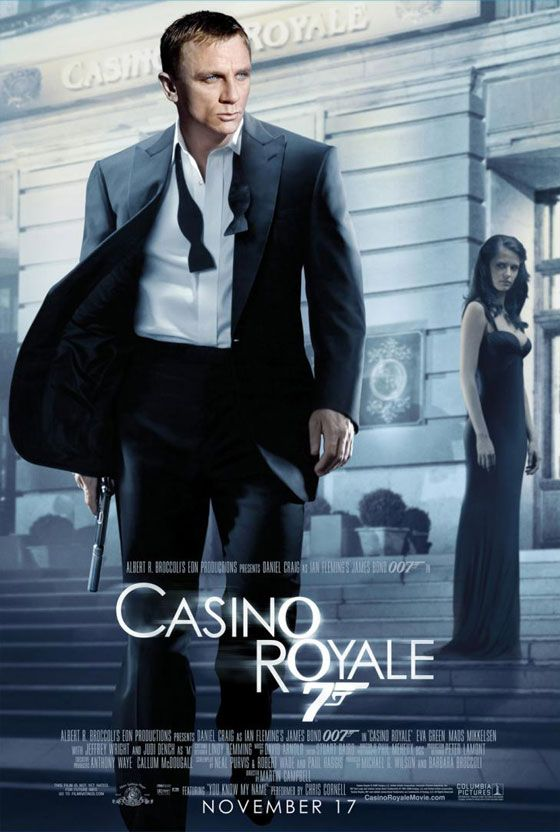 James Bond 007 Casino Royale Poster
