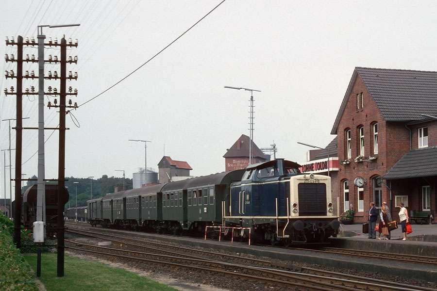 Bahnhof Löhne ansichten der streckendiesellok 211 m16b eisenbahnforum der