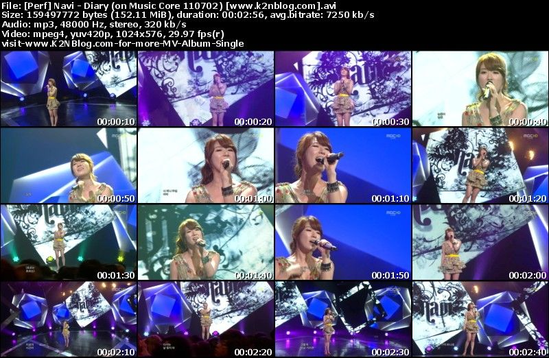 [Perf] Navi   Diary (on Music Core 110702)