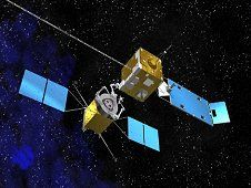 This artist&#39;s concept shows a servicing<br /> spacecraft, left, approaching a client<br /> satellite. NASA is developing technology<br /> needed to bring a high-technology &quot;gas<br /> pump, robotic mechanic and tow truck&quot; to<br /> satellites in orbit. (NASA)&nbsp;&nbsp;<br /> <a href='http://www.nasa.gov/images/content/725615main_artist_XLpsp.jpg' class='bbc_url' title='External link' rel='nofollow external'>View large image</a>
