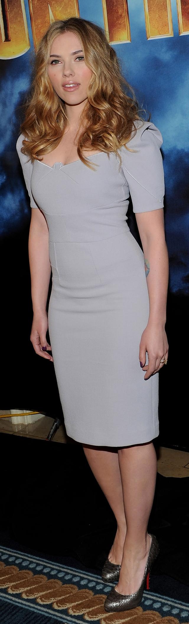 Scarlett Johansson Measurements - Halle Berry Photo -3849